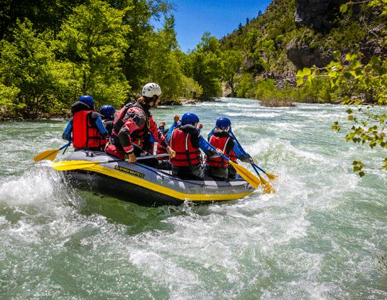 activités sportives à sisteron: rafting, canoying, pêche