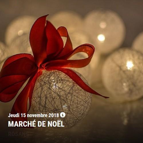 agenda sisteron novembre 2018 marché noel