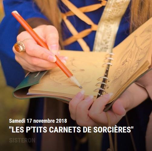agenda sisteron novembre 2018