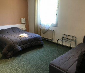 chambre quadruple à Sisteron